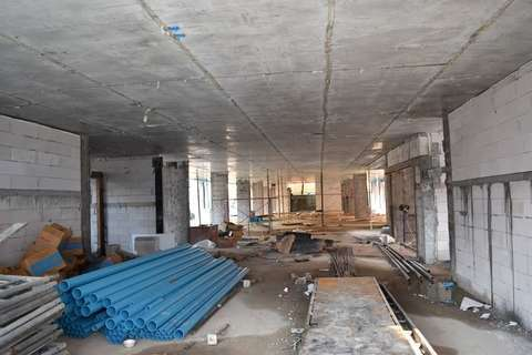 Club-3 construction 26.10.17 - interior works