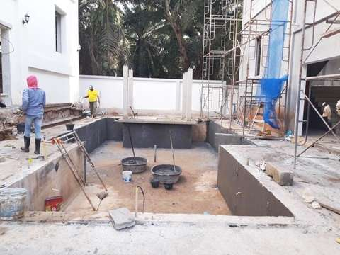 Coral Beach project construction update 30.09.19