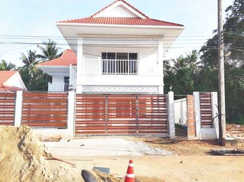 Coral Beach villa 31 project construction update 06.10.19