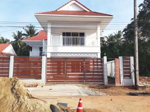 Coral Beach project villa 31 construction update 30.09.19