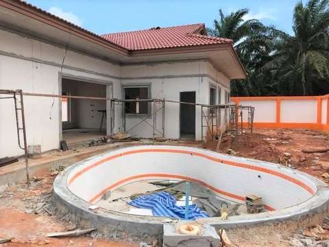 Coral villas project construction update 27.04.18