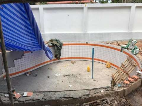 Coral villas project construction update 30.03.18