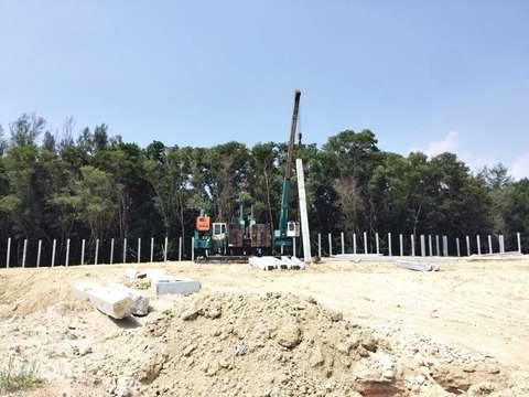Phuket Waterworld project construction update 16.10.19