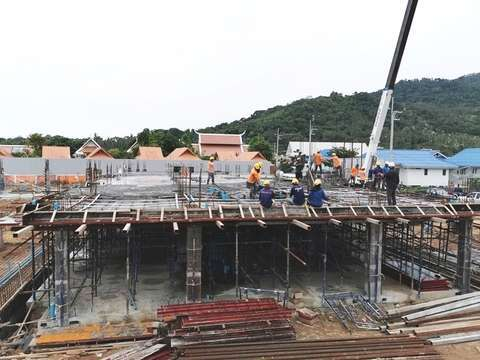 Samui Waterworld project construction update 10.10.19