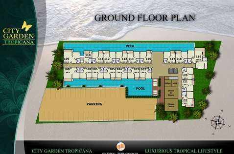 City Garden Tropicana: condo for sale and rent :: Pattaya City Home