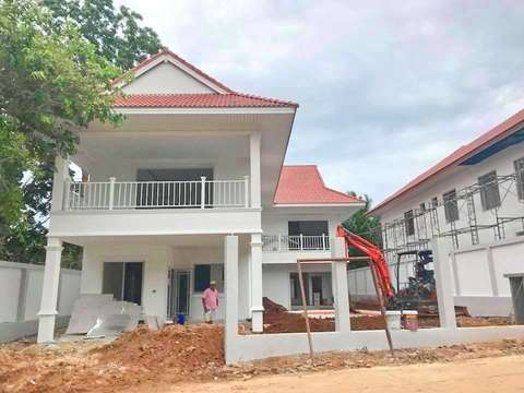 Coral villas project construction update 08.06.18