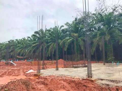 Сoral Villas project construction update 12.10.18
