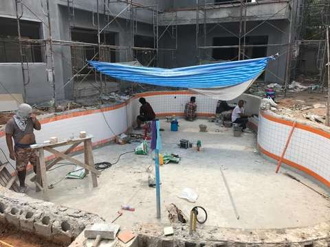 Coral villas project construction update 16.03.18