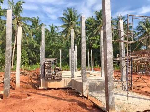 Coral Villas project construction update 23.11.18