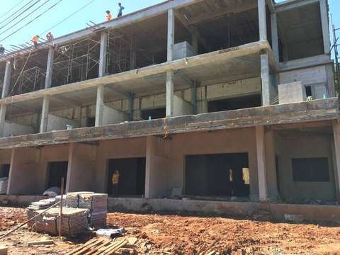 Coral Beach construction update 15.12.17 - exterior view
