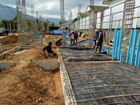 Lamai resorts project construction update 16.03.18