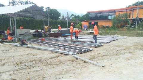Phuket Waterworld project construction update 11.09.19