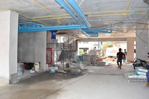 suites-6 construction 19.09.17 - interior works