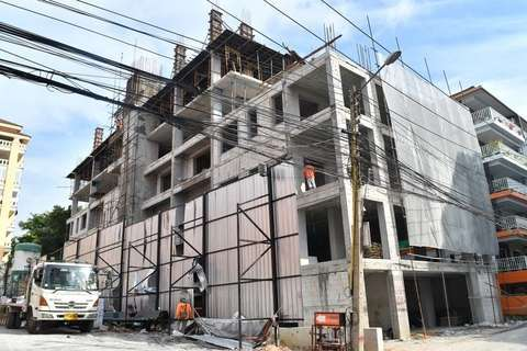 Trend-7 construction update 07.12.17 - exterior view