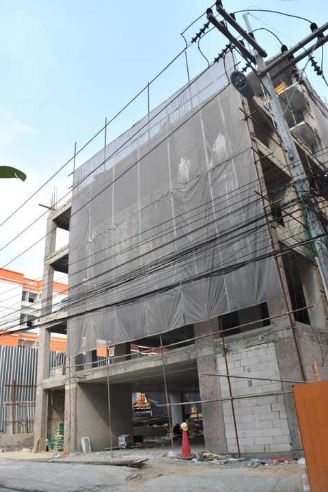 Trend-7 project construction update 11.01.18 - exterior view